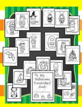 Halloween Activities: My Halloween Vocabulary Book