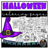 Halloween Coloring Book {Educlips Resources}