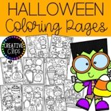 Coloring Pages: Halloween Coloring Pages {Made by Creative Clips Clipart}