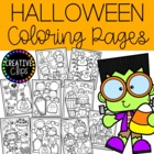 Halloween Coloring Pages {Made by Creative Clips Clipart}