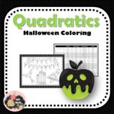 Halloween Coloring: Characteristics of Quadratic Equations
