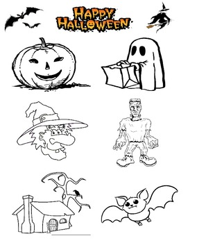 Halloween Coloring Fun!