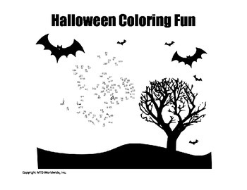 Halloween Coloring Page Bundle