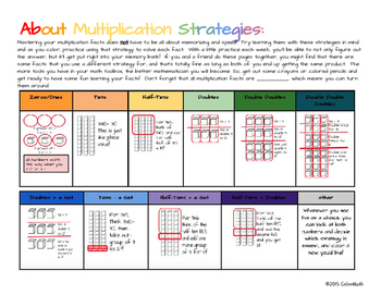 Halloween Coloring Page by Addition or Multiplication Strategies