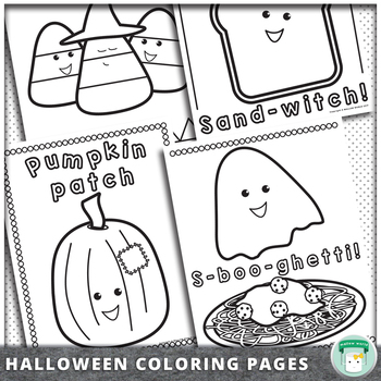 Superbe Halloween Coloring Pages