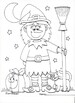 Halloween Coloring Pages Bundle 2