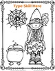 Editable Halloween Coloring Pages