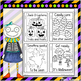 6 Halloween-Themed Coloring Pages with Traceable Words For
