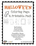 Halloween Coloring Pages and Printables