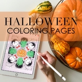 Halloween Coloring Pages by Taracotta Sunrise