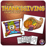 Autumn, Fall, and Thanksgiving Coloring Pages