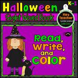 Halloween Sight Word Coloring Book (Kindergarten & First Grade)
