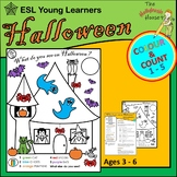 Halloween Colour and Count ( 1 - 5 )