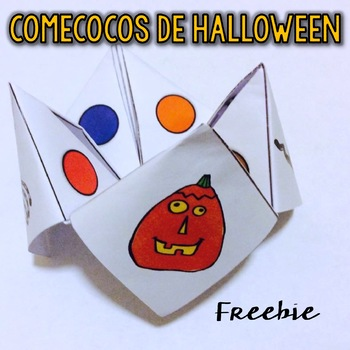 "Halloween ""Comecocos"" {Freebie}"