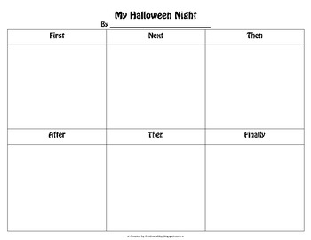 Halloween Comic Strip