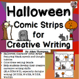 Halloween Writing Comic Strips