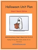 """""""Halloween"""" Common Core Aligned Math and Literacy Unit - SMARTBOARD EDITION"""