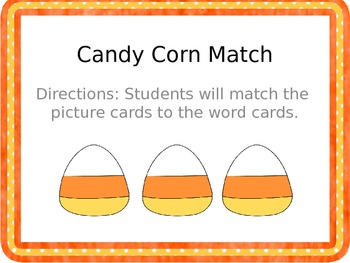 Halloween Common Core ELA Centers