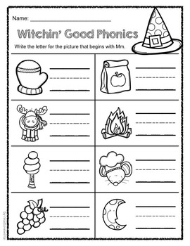 Halloween Common Core Literacy and Math Packet