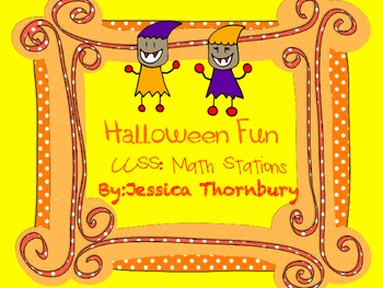 Halloween Common Core Math Centers