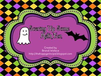 Halloween Common Core Math Games