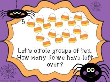 Halloween Common Core Math Meeting