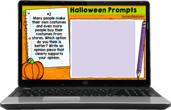 Halloween Common Core Writing: Opinion, Informative, and Narrative Writing
