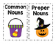 Halloween Common Nouns vs. Proper Nouns