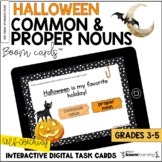 Halloween Common & Proper Nouns BOOM Cards™