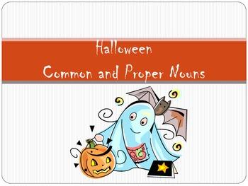 Halloween Common/Proper Noun Sort