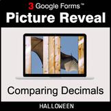 Halloween: Comparing Decimals - Google Forms Math Game | D