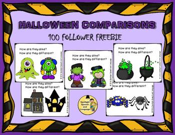 Halloween Comparisons (100 Follower FREEBIE)