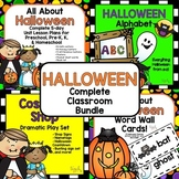 Halloween; Complete Classroom Bundle for Preschool, PreK, K, & Homeschool