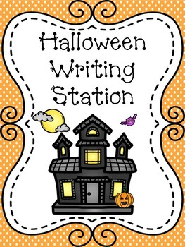 Halloween Complete Writing Station
