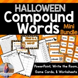 Halloween Compound Words Lesson & Activities!