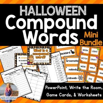 Halloween Compound Words Activities!