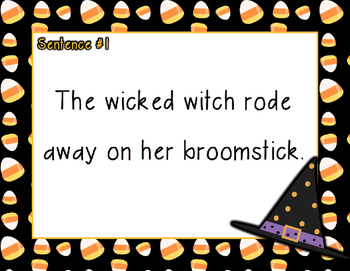Halloween Compound Words PowerPoint