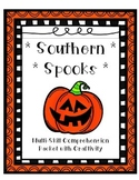 Halloween Comprehension - 3 passage/question sets plus Craftivity!