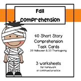 Halloween Comprehension