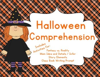 Halloween Comprehension Pack