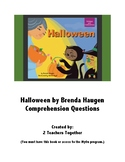 Halloween Comprehension Questions