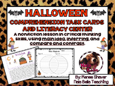 Halloween Reading Skills and Task Cards Literacy Center