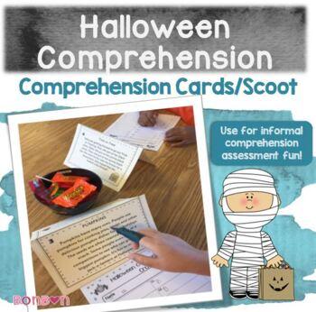Halloween Comprehension Cards