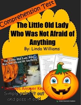 Halloween Comprehension Test: The Little Old Lady Who Was Not Afraid of Anything