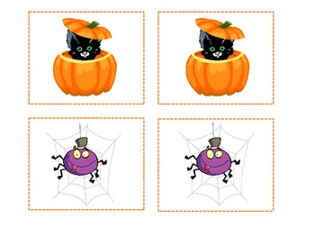 Halloween Concentration Game
