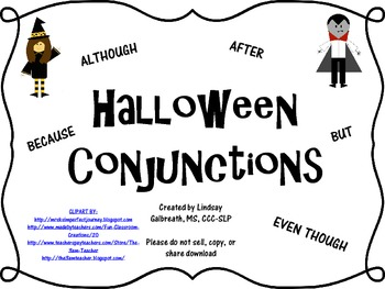 Halloween Conjunctions