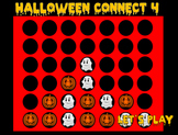 Halloween Connect 4 Template (PowerPoint)
