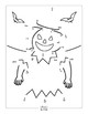 Halloween Connect the Dots - Dot to Dot Worksheets Counting to 25