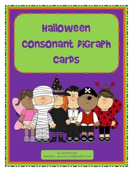 Halloween Consonant Digraph Cards