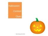 Halloween Context Clues